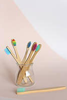 Детская бамбуковая зубная щетка