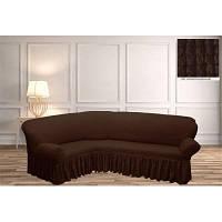 Чехол на угловой диван отличное качество 20 расцветок в наличие