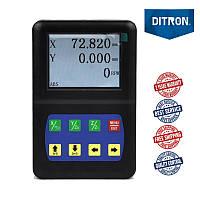 2 оси TTL 5 вольт LCD дисплей устройство цифровой индикации D50-2