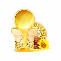 Маска для догляду за руками з екстрактом меду Laikou Milk Hand Wax Honey, фото 1
