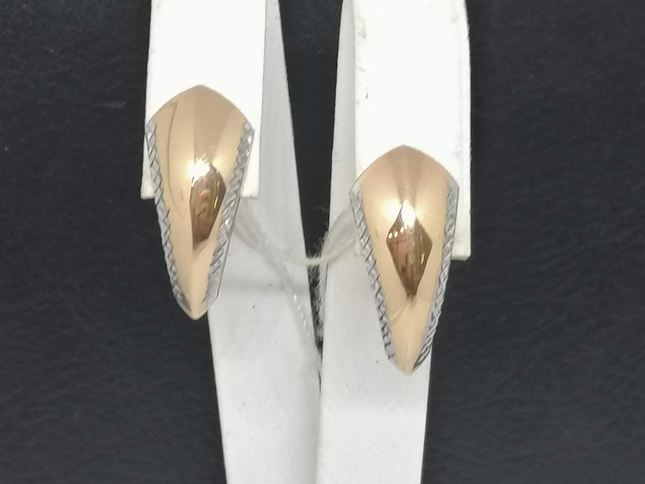 Золотые серьги. Артикул 470375