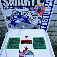 Автоматический инкубатор Рябушка Смарт Турбо на 48 яиц, цифровой терморегулятор
