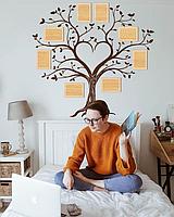Семейное дерево для фотографий / семьи / фоторамка / картина / композиция / коллаж / подарок / древо