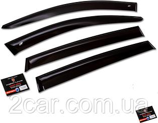 Дефлекторы, Ветровики Geely MK Sedan 2008- Cobra накладки на окна