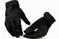 """Перчатки военные, тактические Blackhawk (повнопалие """"L-ХЛ""""), тактичні рукавиці, (black) + ВІДЕО, фото 1"""