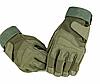 """Перчатки военные, тактические Blackhawk (повнопалие """"L-ХЛ""""), тактичні рукавиці, (green) + ВІДЕО"""