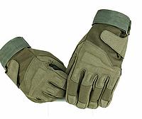 """Перчатки военные, тактические Blackhawk (повнопалие """"L-ХЛ""""), тактичні рукавиці, (green) + ВІДЕО, фото 1"""