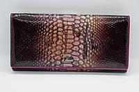 Жіночий шкіряний гаманець Wanlima 11044730014b1 Purple