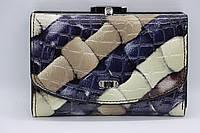 Женский кожаный кошелёк Wanlima 31411750473y1 Dark Blue