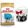 +КОНТЕЙНЕР Корм Роял Канін Мопс Юніор Royal Canin Pug junior породний для цуценят 1.5 кг