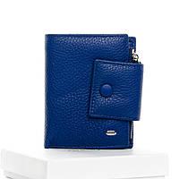 Кошелек женский кожаный синий Classic DR. BOND WS-5 light-blue