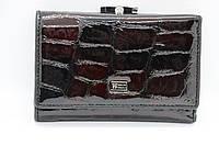 Женский кожаный кошелёк Wanlima 50040150430b1 Red/Black