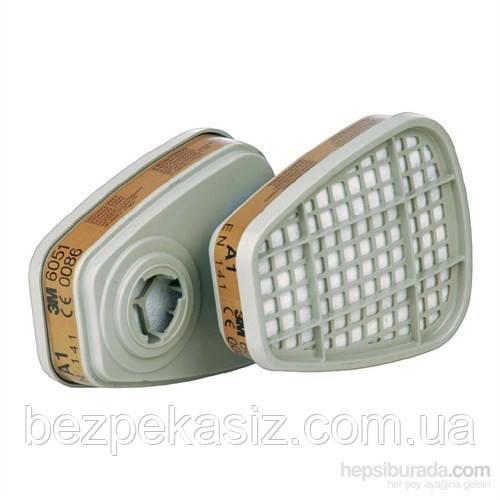 Фильтр 3М 6051 А1 для масок и полумасок 3М Цена за Пару Оригинал