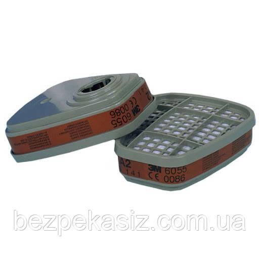 Фильтр 3М 6055 А2 для масок и полумасок 3М Цена за Пару Оригинал