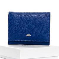 Кошелек женский кожаный голубой Classic DR. BOND WS-6 light-blue