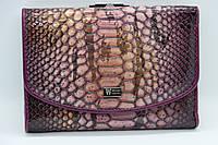 Женский кожаный кошелёк Wanlima 11044730473b1 Purple