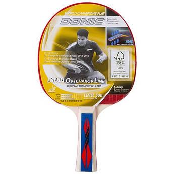 Ракетка для настольного тенниса Donic Dima Ovtcharov Line 500.