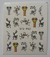Наклейка для ногтей STZ-902