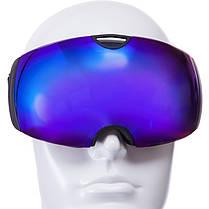 Очки горнолыжные SPOSUNE HX036 (TPU,двойные линзы,PC,антифог, цвета в ассортименте), фото 2