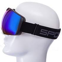 Очки горнолыжные SPOSUNE HX036 (TPU,двойные линзы,PC,антифог, цвета в ассортименте), фото 3