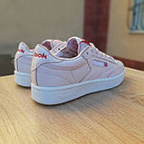 Кроссовки распродажа АКЦИЯ Reebok Workout бледно-розовые 550 грн 37(23,5см) последние размеры люкс копия, фото 8