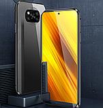 Магнитный металл чехол FULL GLASS 360° для Xiaomi POCO X3 NFC / POCO X3 PRO /, фото 8