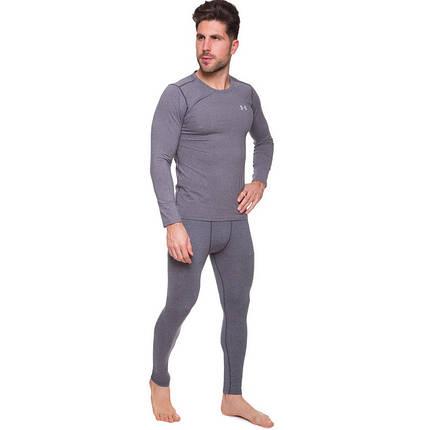 Комплект термобелья мужской (Longslive и штаны) UAR CO-8151-8224 размер M-2XL (лонгслив CO-8151, кальсоны, фото 2