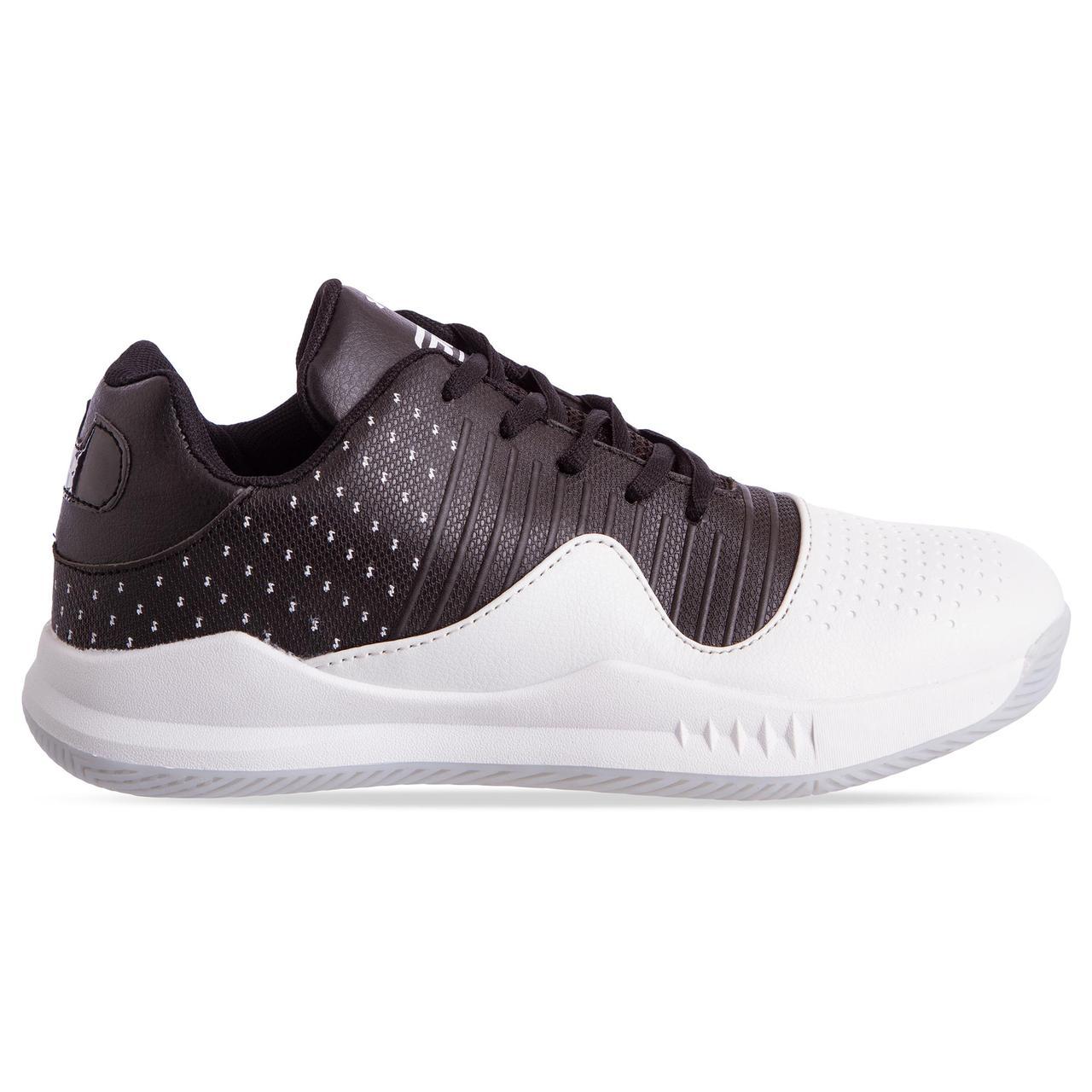 Кроссовки баскетбольные UAR F913-4 размер 41-45 черный-белый