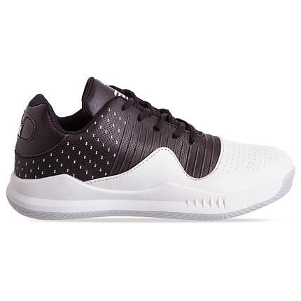 Кроссовки баскетбольные UAR F913-4 размер 41-45 черный-белый, фото 2