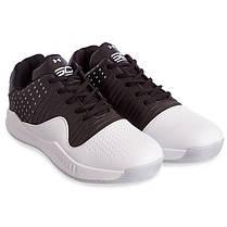 Кроссовки баскетбольные UAR F913-4 размер 41-45 черный-белый, фото 3