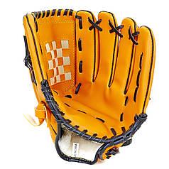 Пастка для бейсболу C-1878 (PVC, р-р 12,5, чорний, коричневий)