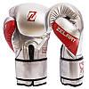 Перчатки боксерские PU на липучке ZELART BO-1323 (р-р 10-14oz, цвета в ассортименте), фото 3