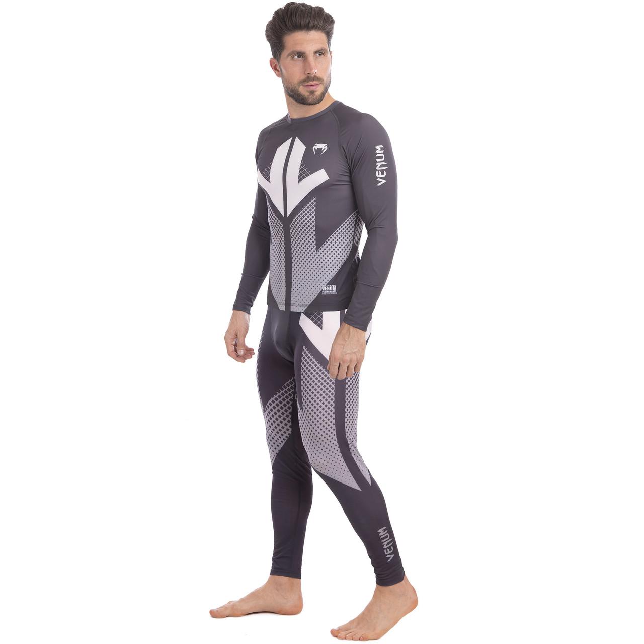 Комплект компрессионный мужской (Longslive и штаны) VNM 9512-9612 размер M-2XL (полиэстер, эластан,