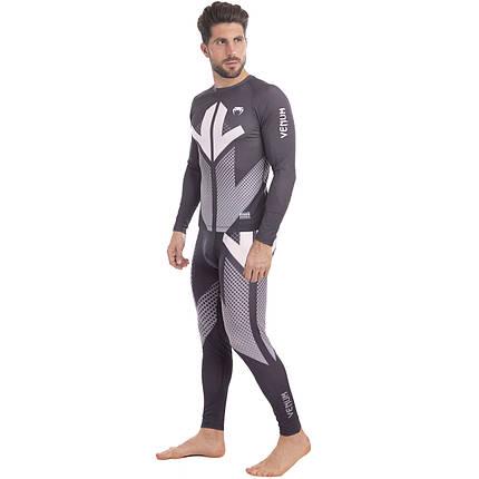 Комплект компрессионный мужской (Longslive и штаны) VNM 9512-9612 размер M-2XL (полиэстер, эластан,, фото 2
