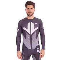 Комплект компрессионный мужской (Longslive и штаны) VNM 9512-9612 размер M-2XL (полиэстер, эластан,, фото 3