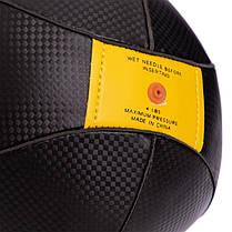 Груша пневматическая Каплевидная подвесная MAXXMMA SS01 (верх-PU, латекс. камера, d-18см, l-25см, черный), фото 3