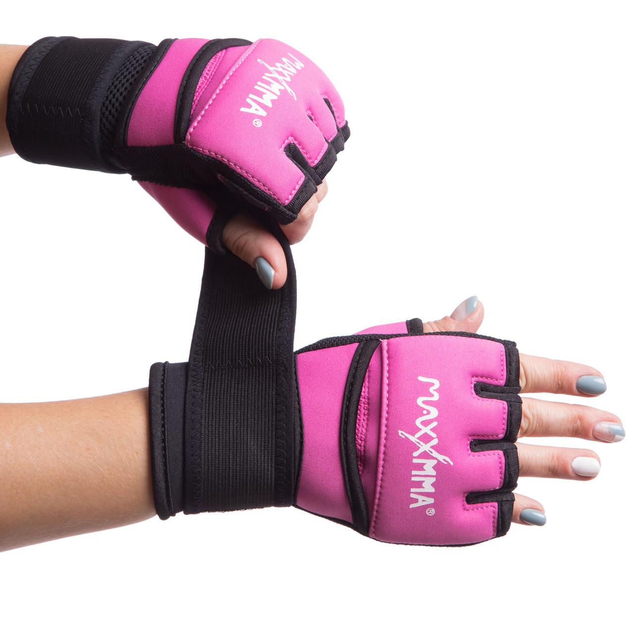 Перчатки-бинты внутренние из неопрена MAXXMMA BO-0840 (р-р S-XL, цвета в ассортименте)