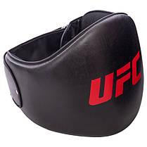 Пояс тренера PU UFC PRO UHK-75076 (наполнитель-пенополиуретан, черный), фото 2