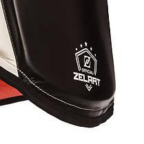 Пояс тренера шкіряний ZELART BO-1975 (наповнювач-EVA,пінополіуретан, безрозмірний, крепл. на липучках,чорний), фото 2