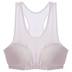 Защита груди женская MA-6240 (топ + 2 вставки, полиамид, эластан, р-р универсальный 42-50, белый, черный,