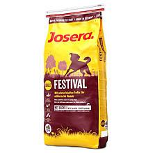 Сухий корм для вибагливих собак Josera Festival з лососем 15 кг