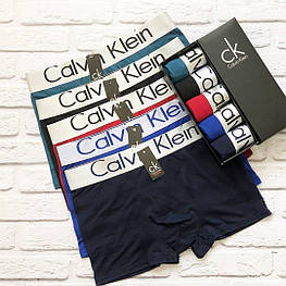Мужские трусы Calvin Klein classic боксеры, мужской набор Кельвин Кляйн Реплика