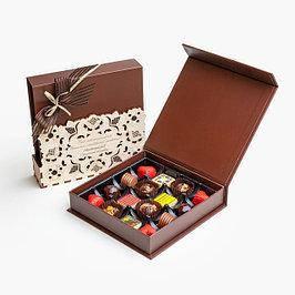 Творческий шоколад подарочный