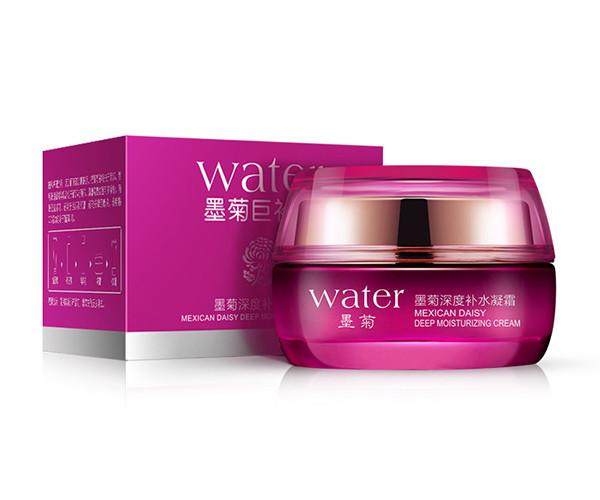 Увлажняющий крем BIOAQUA для лица с экстрактом хризантемы, 50 гр.  Water(0033)