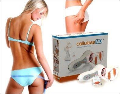 Вакуумный антицеллюлитный массажер - Celluless MD