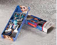 Набір дитячих приладів 2 предмета Холодне серце.