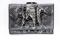 Женский кожаный кошелёк Wanlima 11044730430b1 Black
