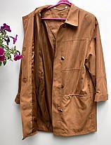 Плащ жіночий на ґудзиках Розмір 38-40 ( Б-67), фото 2