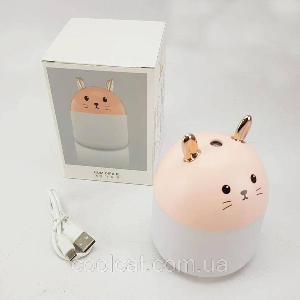 USB увлажнитель воздуха Кролик Humidifiers Rabbit / Светильник-диффузор / Ночник