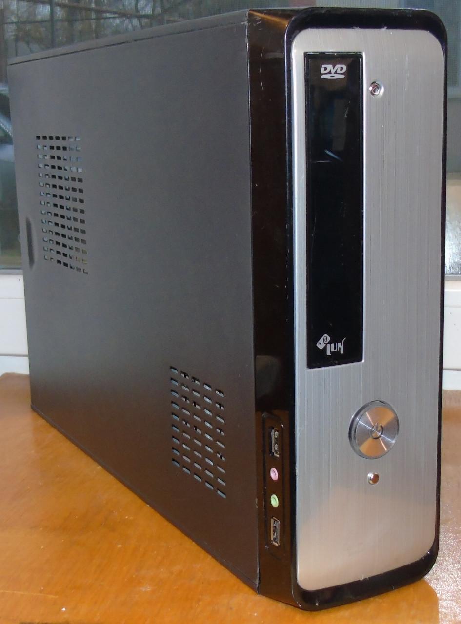 Case#223 Настольный компьютерный корпус AtLUX + Блок питания 400W